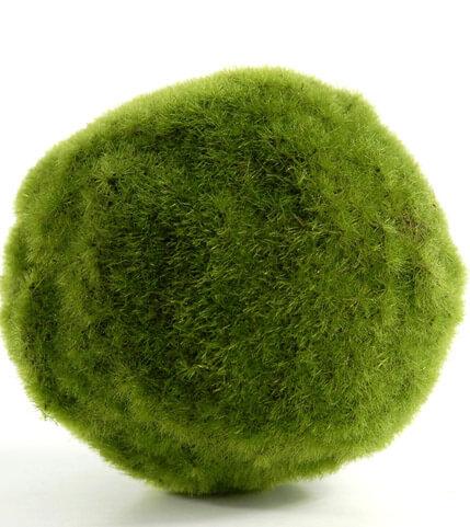 Moss Ball Artificial 5in