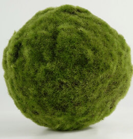 Moss Ball Artificial 7in