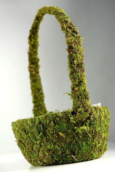 moss covered basket 9 u0026quot  x 5 u0026quot