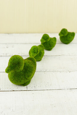 Moss Ducks (Set of 4)