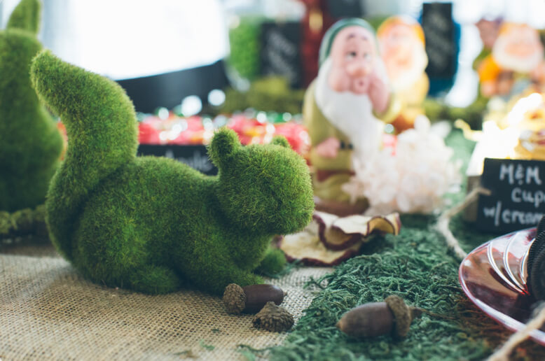 Moss Squirrels|Set of 2