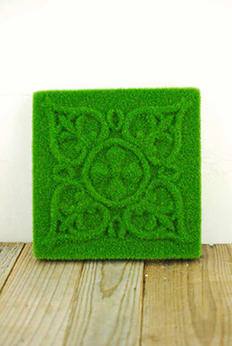 Moss Tile Pattern 8.5in (Pack of 6)