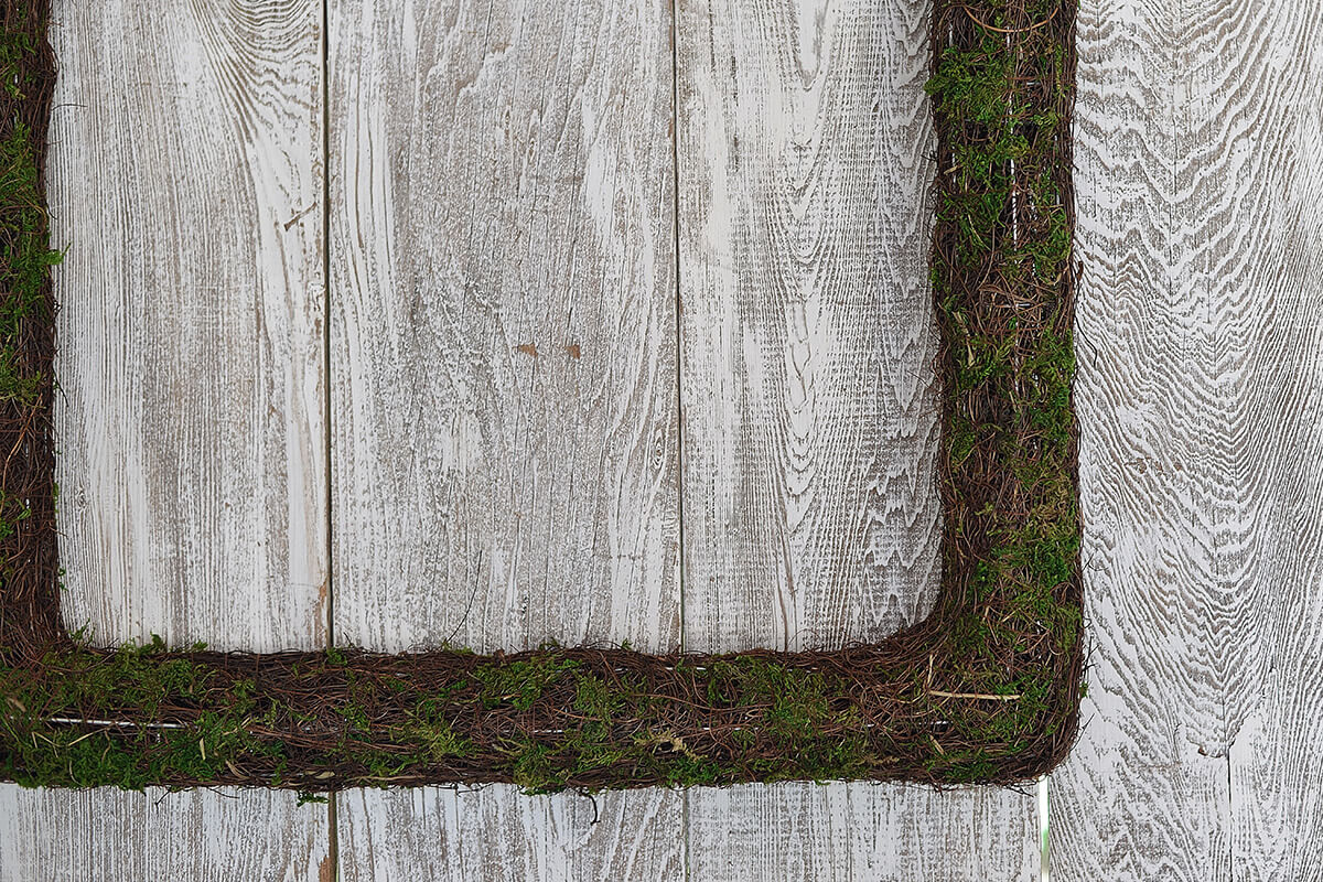 Moss Wreaths Square (Set of 3)