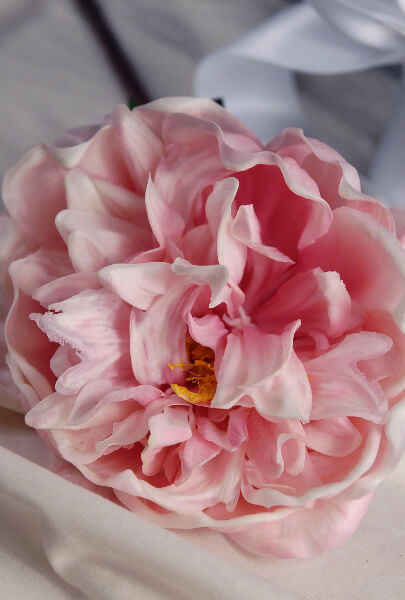 Real touch peony pale pink 30 tall x 6 wide mightylinksfo