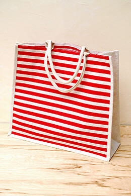 Nautical Wedding Welcome Bag Red 19x17x6in