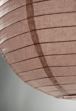 "12"" LIGHT BROWN Paper Lanterns"