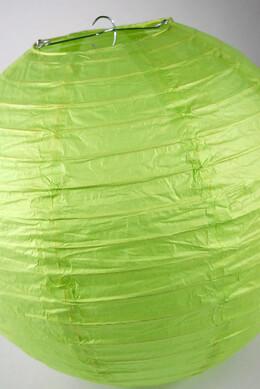 "Paper Lanterns  12""  LIME GREEN"