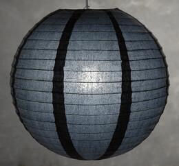 16 Inch BLACK Paper Lanterns