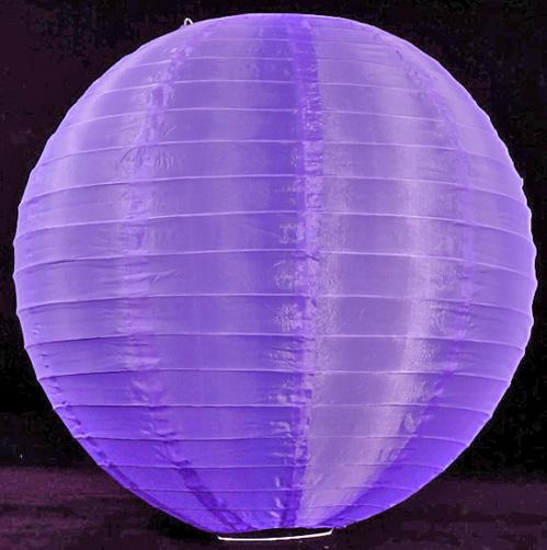 18 Quot Nylon Paper Lanterns Purple