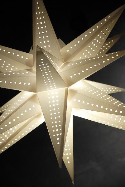 Star Lantern White 24in