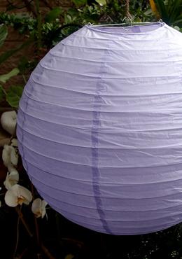 """10 Lavender 8"""" Paper Lanterns   (PACK of 10)"""