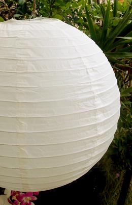 """16"""" Paper Lanterns BEIGE"""