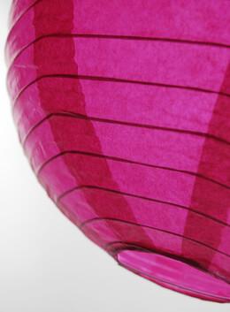 """Dark Pink 12"""" Paper Lanterns"""