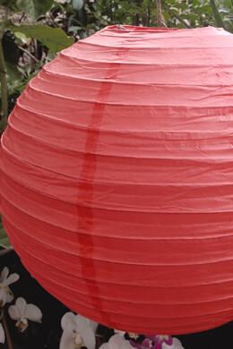 """CORAL PINK 16""""  Paper Lanterns"""