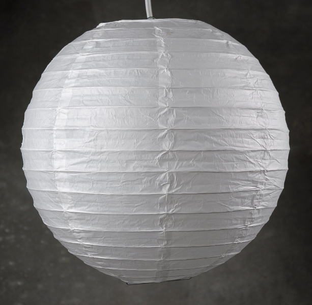 14 Quot Paper Lanterns White