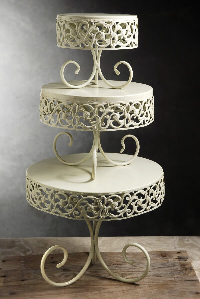 Red Cake Stand For Sale