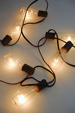 Gerson Edison ST40 Bulb String Lights - 2201330