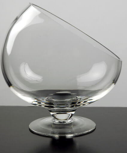 Pedestal Bias Bowl 7 Quot Glass
