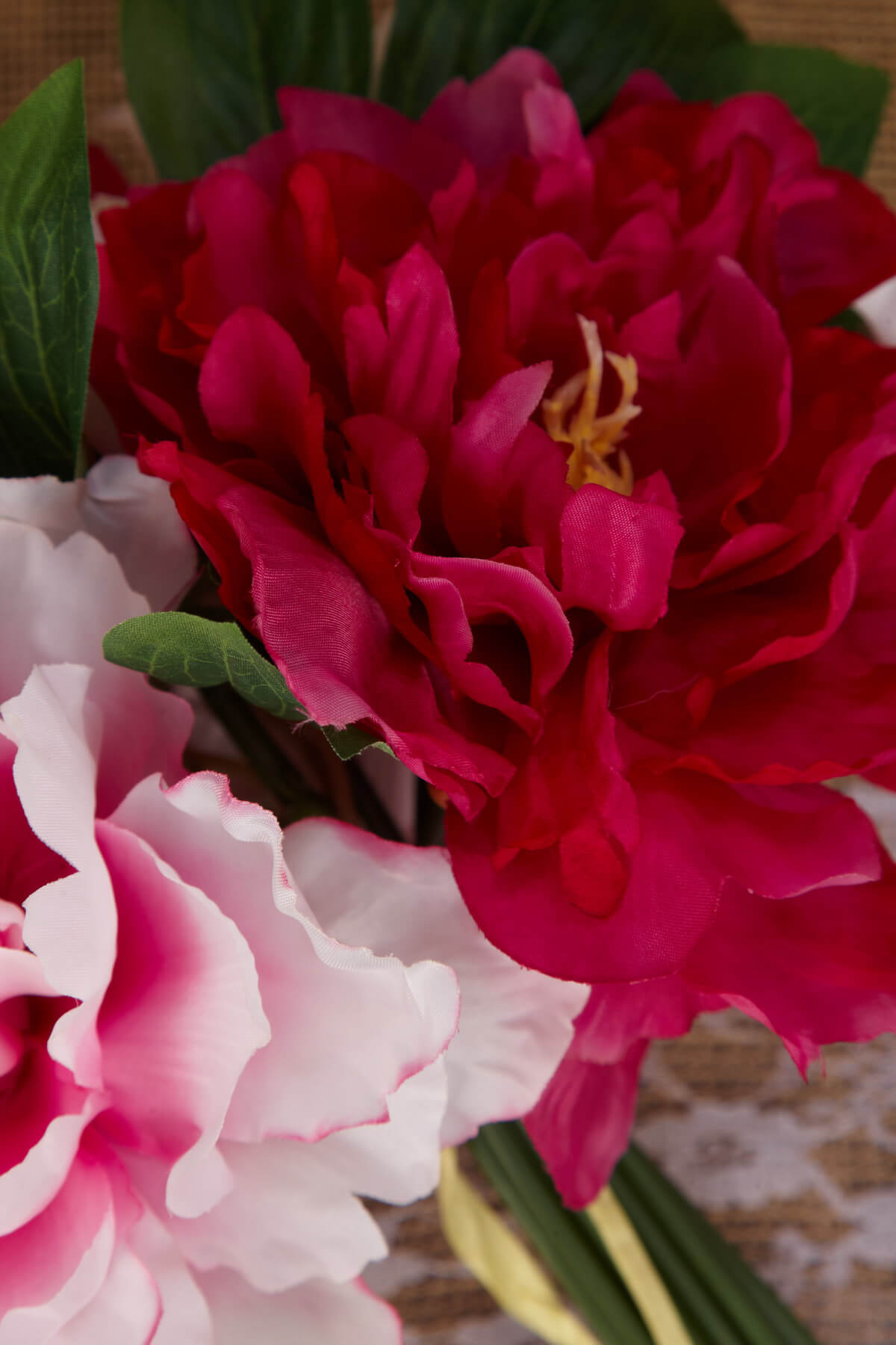 Pink Amp Dark Pink Peony Bouquet