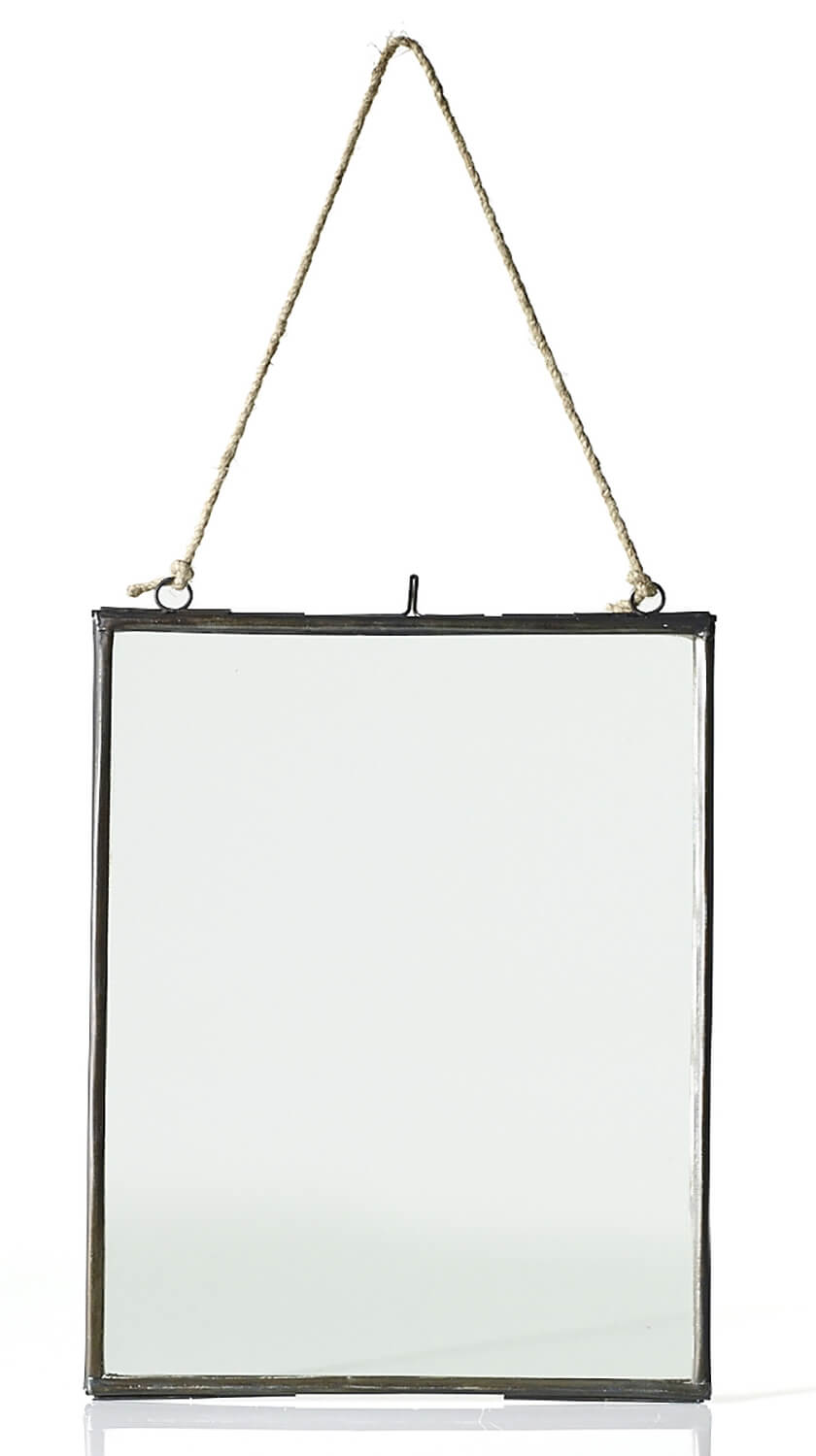 "Photo Frame Metal Hanging 8"" x 10.5"""
