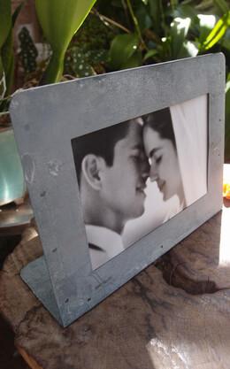 Zinc Picture Frame