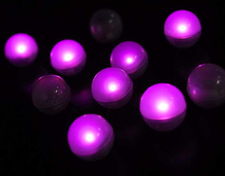Pink Fairy Berries 10 Lights Magical Led Light 3 4