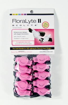 10 Pink Floralytes II