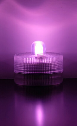 Floralyte Submersible III PINK  (Pack of 10)   On/Off Button & Three Light Settings