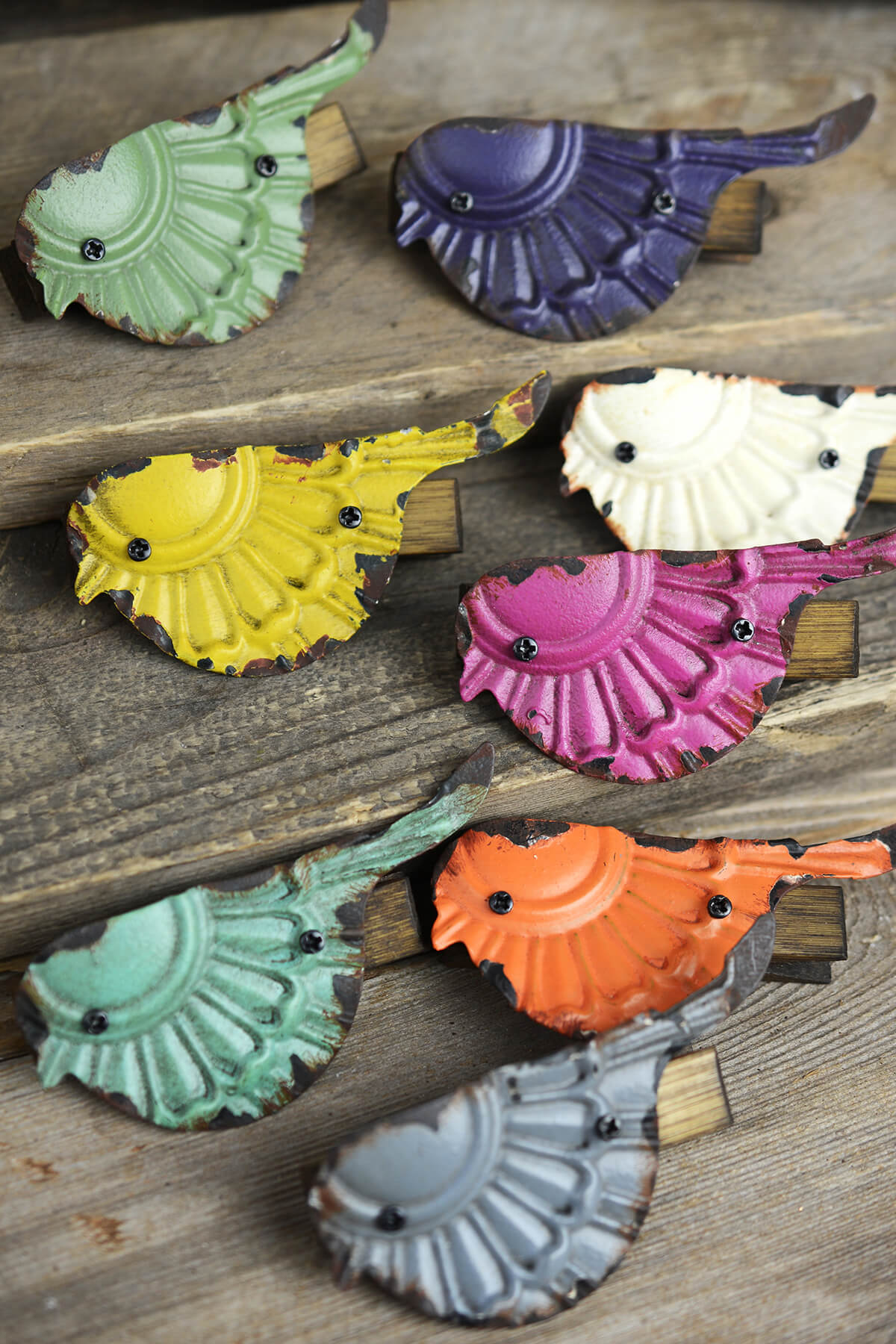 Flock Of Birds Clips Set Of 8