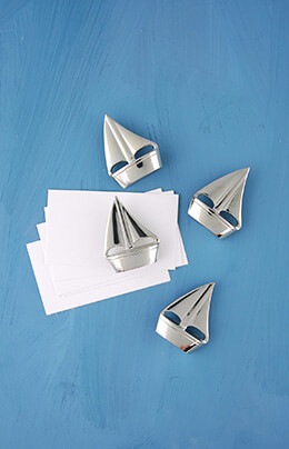 Place Card Holder Sailboat (Set of 4)