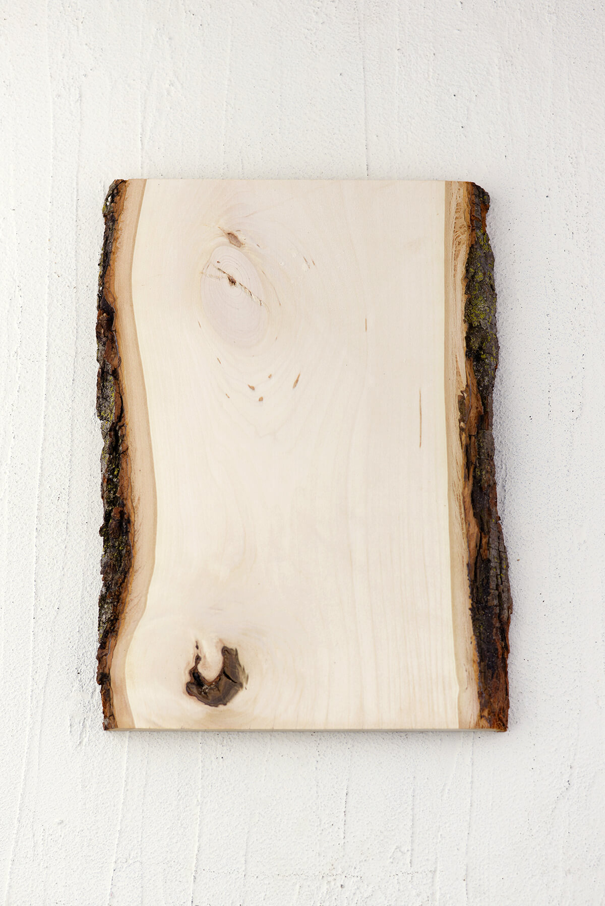 Wood Plank With Bark 13 Quot X 9 11 Quot