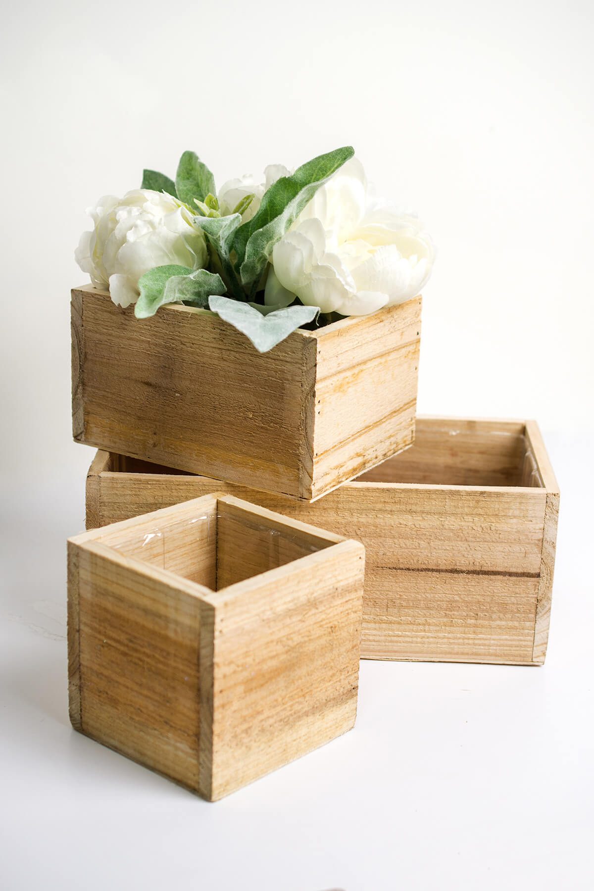 best pic boxes cube teak hw diamond product planter