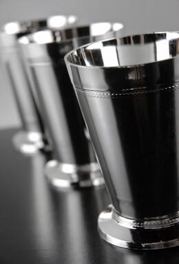 "36 Plastic Mint Julep Cups 4-1/2"""