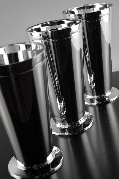 18 Tall Silver Plastic Mint Julep Cup Vases 7 Quot
