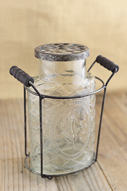 Lattice Glass Potpourri Vase