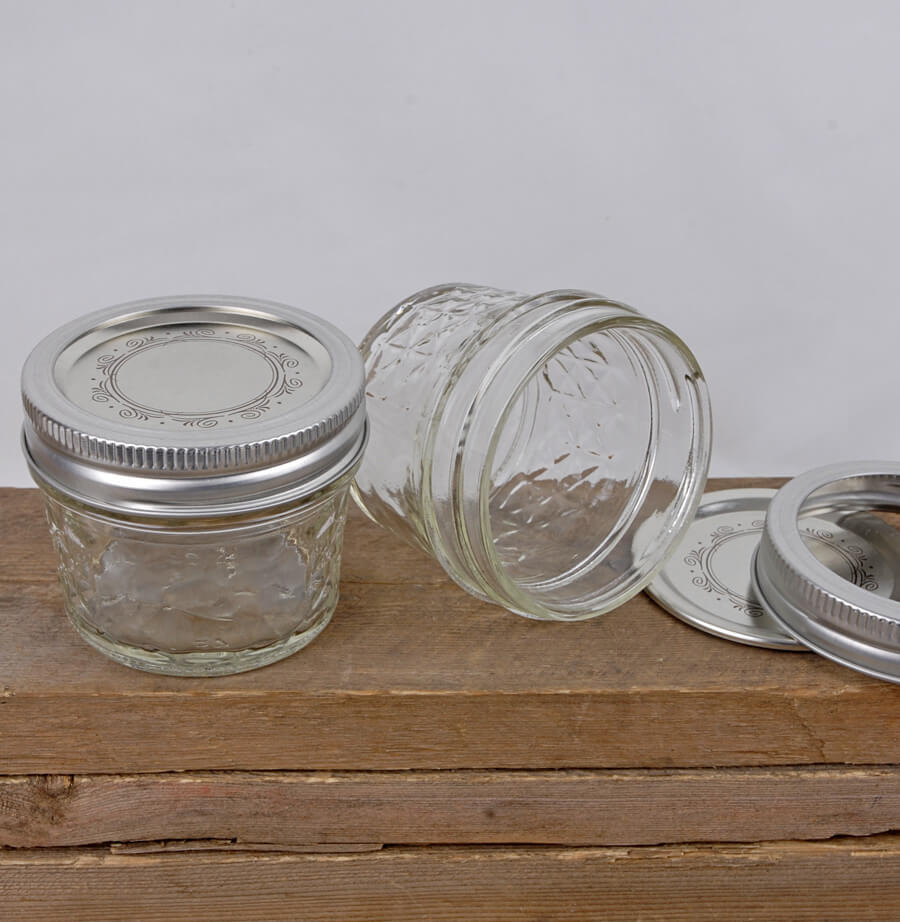 Ball 4oz Quilted Jelly Jars : quilted jars - Adamdwight.com