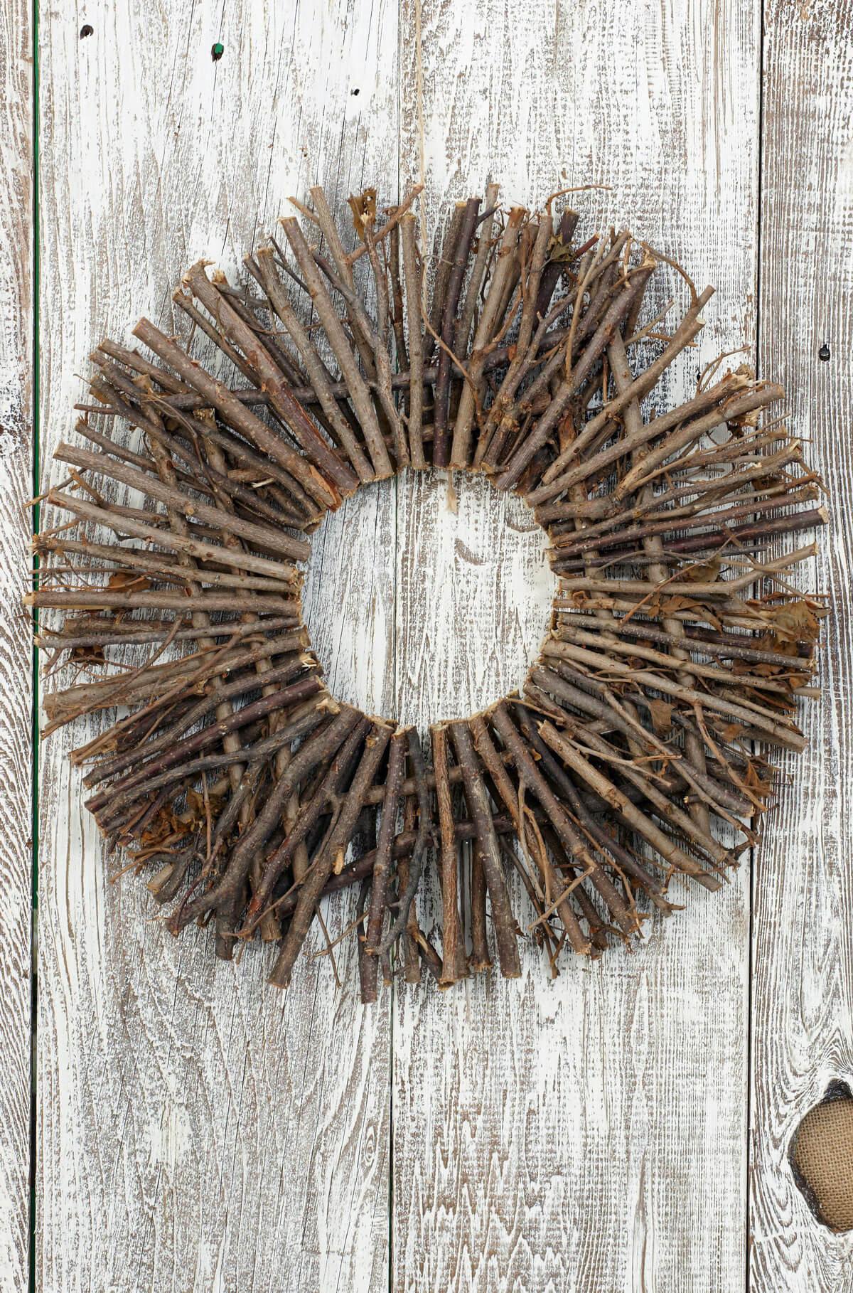 16 Quot Natural Twig Wreath