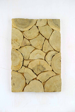 Chipped Wood Plaque  11.8 x 7.9in