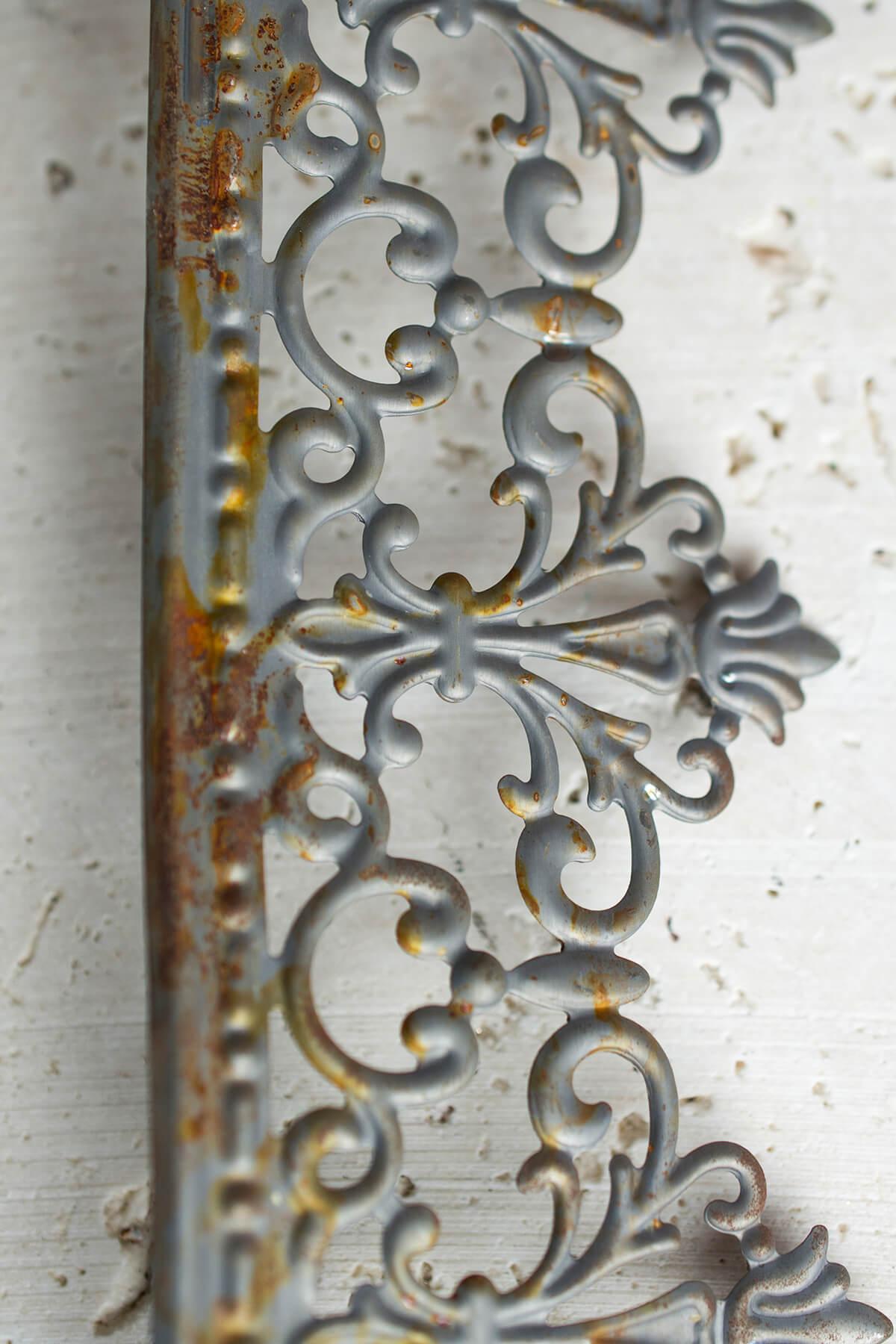 Metal Trim Ribbon Victorian Trim 2 25in X 15 Ft