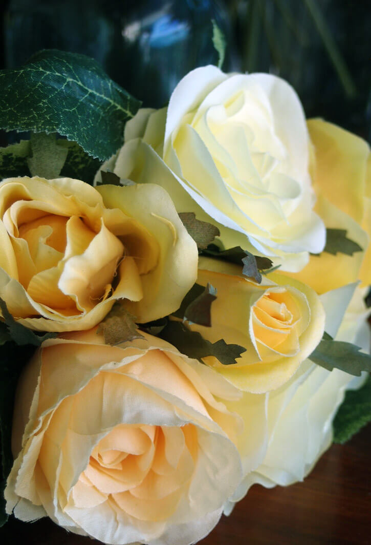 Yellow Rose Bouquet Yellow 9 5in