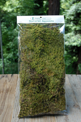 Natural Sheet Moss 2oz Bag