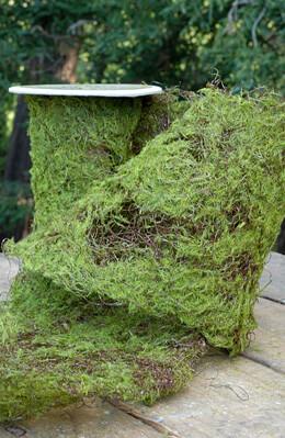 "Sheet Moss Roll Artificial 6"" Width x 36in"