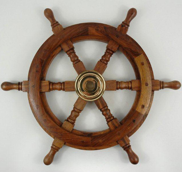 Nautical Ship Wheel Wall Decor