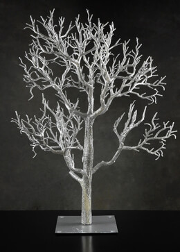 "Wedding Trees 32"" Silver Tree, Event Decor"