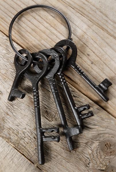 Vintage Key Decorations
