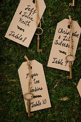 Tiny Gold Skeleton Keys Charms (20 Keys) 1.5in