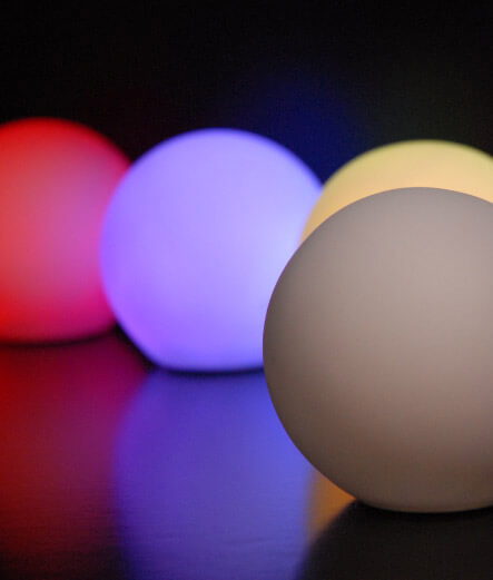 Led Small Glowing Orbs 3 25in