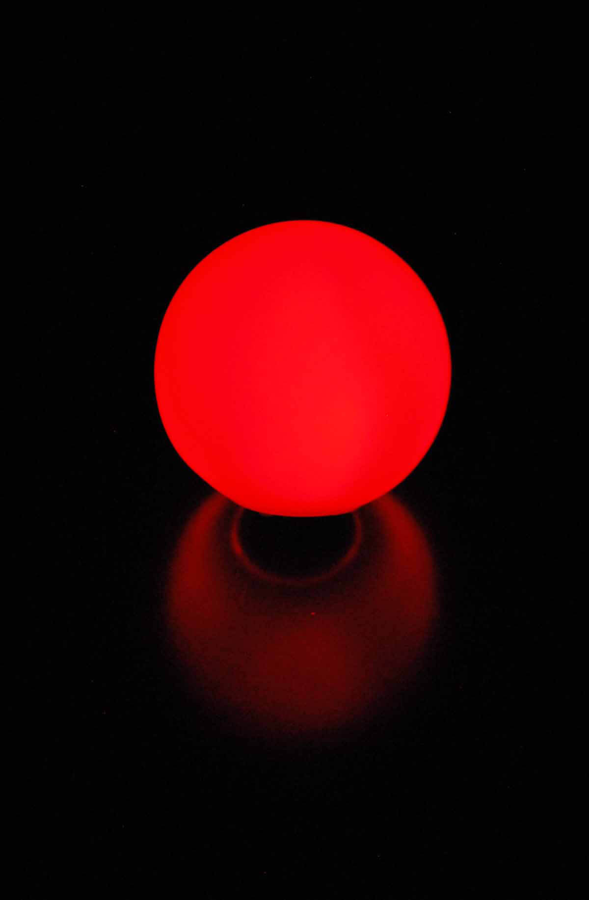 """LED Small Glowing Orbs 3"""" with Stakes"""
