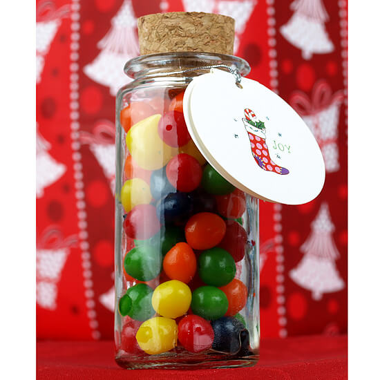 Clear Glass Spice Jars with Cork Tops 3.4 oz