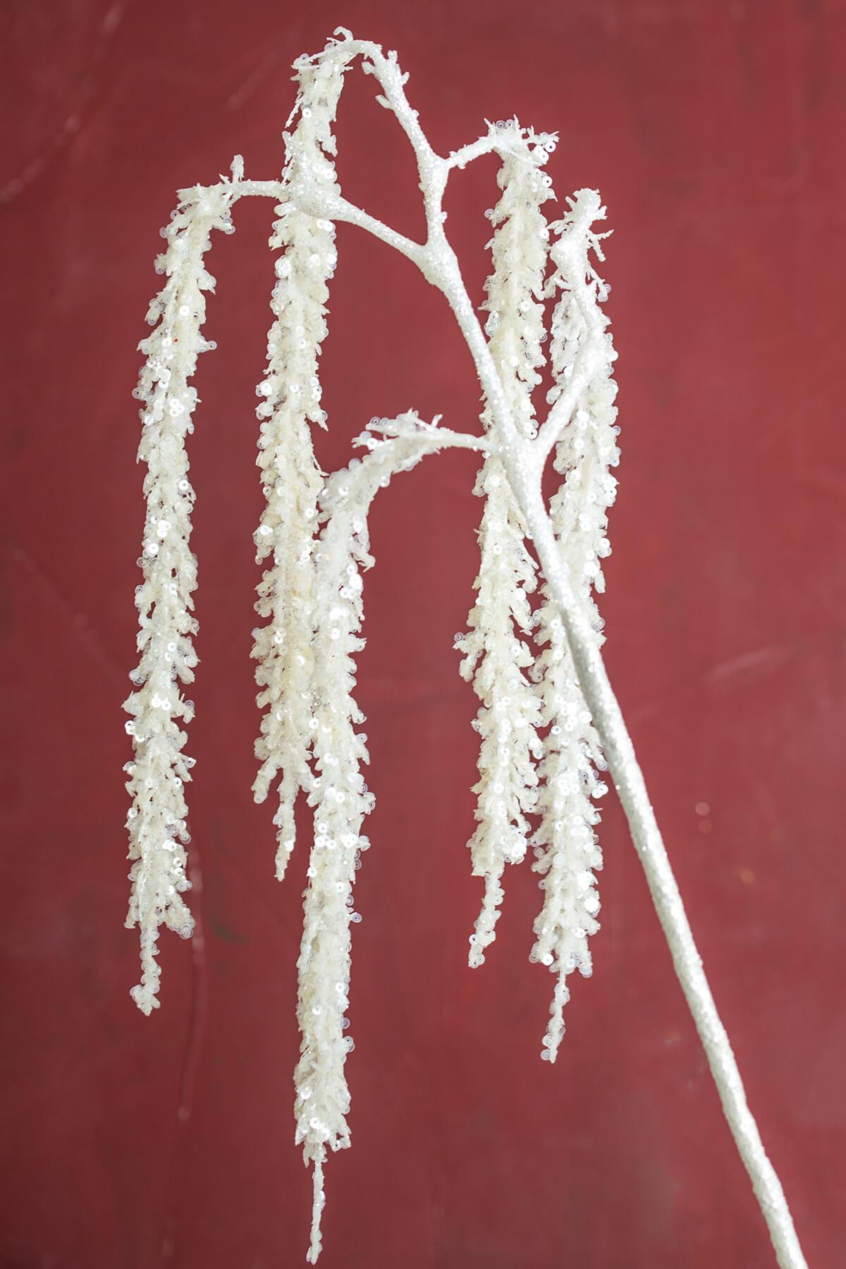 White Sequined Amaranthus Flowers